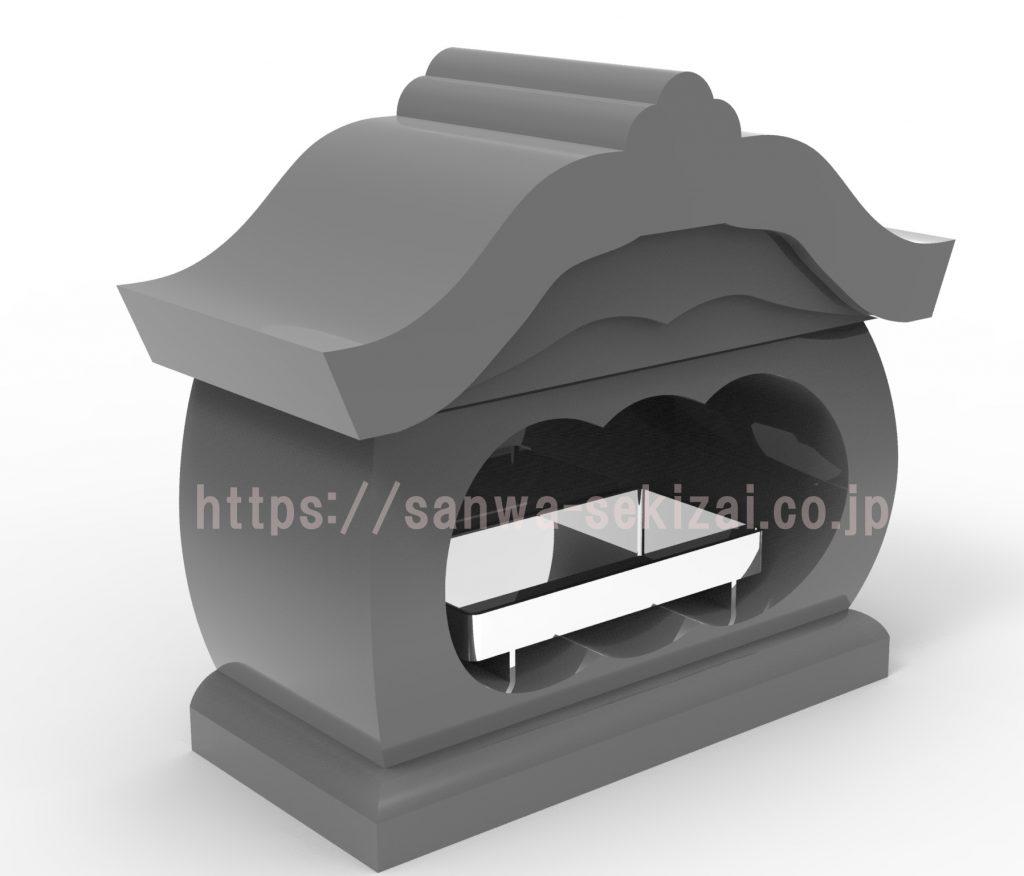 宮型香炉デザイン